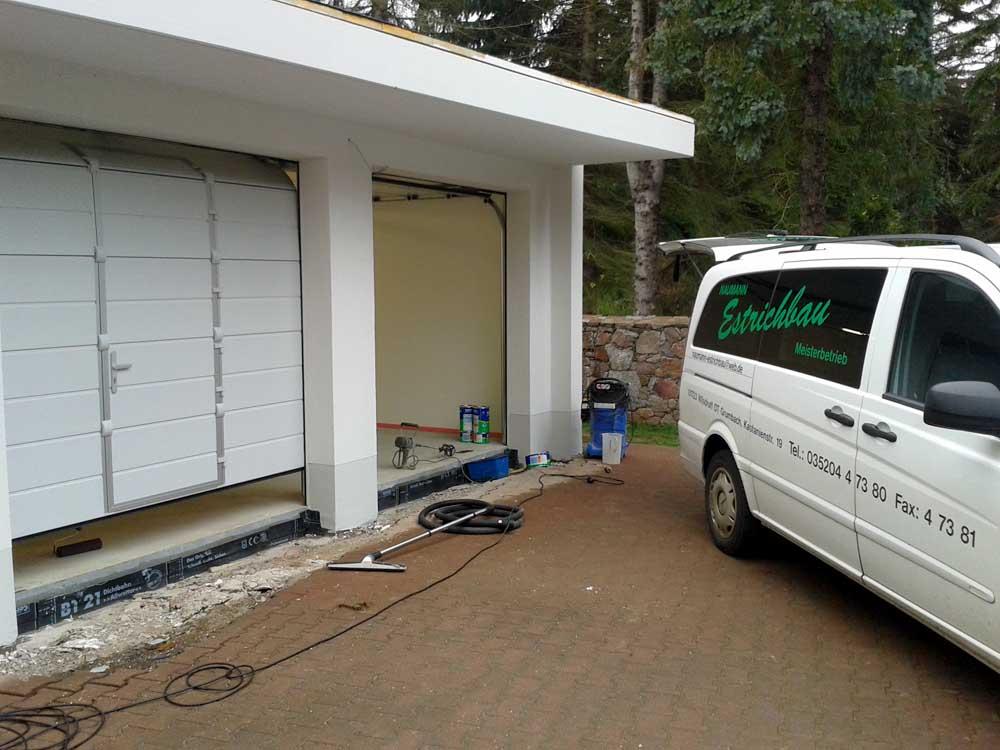 Neubau Garage Moritzbug Auer